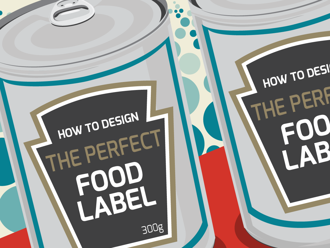 how to design the perfect food label infographic